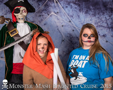 Into The Deep: Monster Mash Haunted Cruise 2015