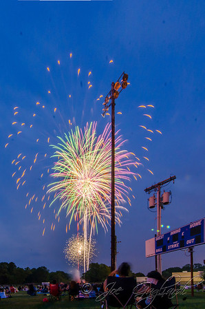 Gardner field fireworks, July 2012