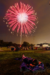 Gardner field fireworks, July 2012