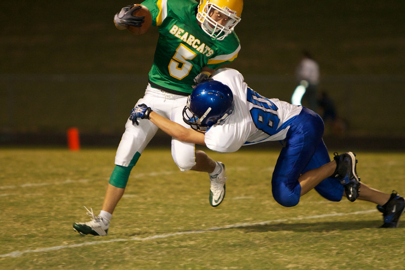 Take down!  by #80, Jarrell JV Football
