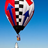 Ballooning Contest Winner Celebration! (11/1/2010)  <br /> If you look closely (in 3X) at the shuttle you will see the hula hoop on the nose, the pilot celebrating, and his son in astonished disbelief!<br /> -Bob