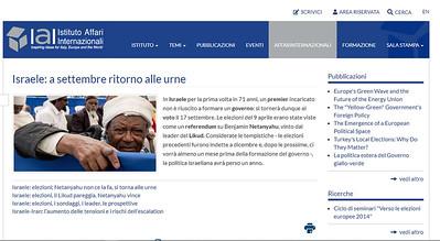 11-Jun-2019 Instituto Affari Internazionali, Italy