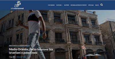 7-Aug-2019 Affari Internazionali, Italy