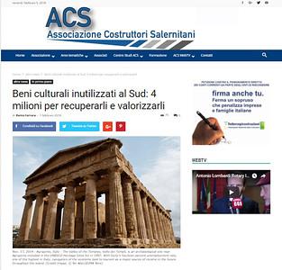 1-Feb-2018 Associazione Costruttori Salernitani, Italy