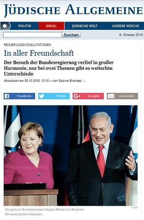 5-Oct-2018 Judische Allgemeine, Germany