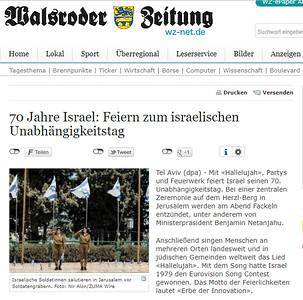 18-Apr-2018 Walsroder Zeitung, Germany