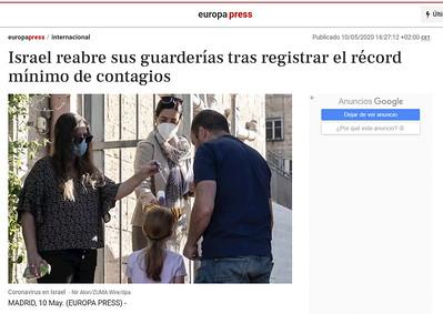 10-May-2020 Europa Press, Spain