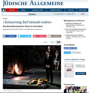 25-Mar-2018 Judische Allgemeine, Germany
