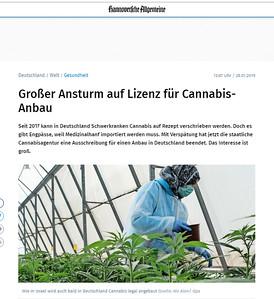 28-Jan-2019 Hannoveriche Allgemeine, Germany