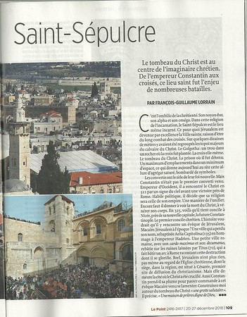 20-Dec-2018 Le Point 2416-2417, France (On assignment for Le Point)