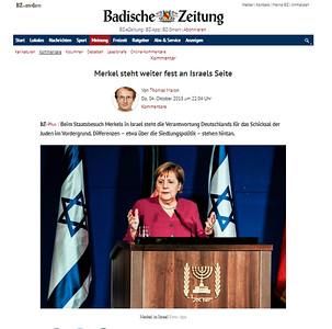 4-Oct-2018 Badische Zeitung, Germany