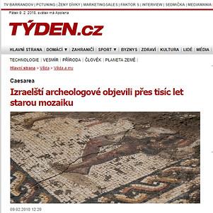 9-Feb-2018 Tyden, Czech Republic