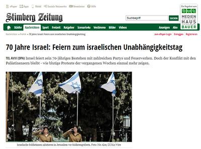 18-Apr-2018 Stimberg Zeitung, Germany