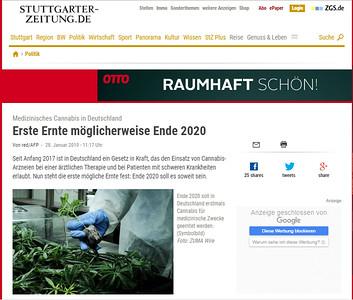 28-Jan-2019 Stuttgarter Zeitung, Germany