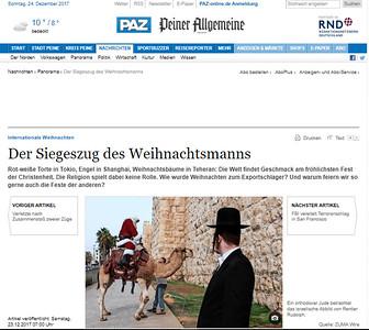 23-Dec-2017 Peiner Allgemeine, Germany