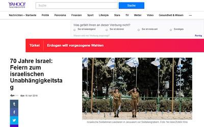 18-Apr-2018 Yahoo Nachrichten, Germany