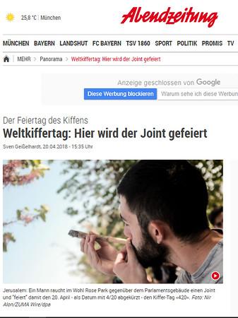 20-Apr-2018 Abendzeitung Muenchen, Germany