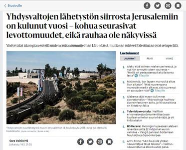 15-May-2019 Helsingin Sanomat, Finland