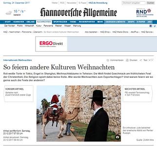 23-Dec-2017 Hannoveriche Allgemeine, Germany