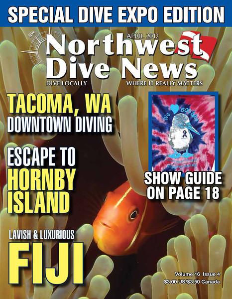 Northwest Dive News - Cover - April 2012
