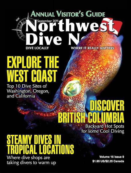 Northwest Dive News - Cover - September 2011