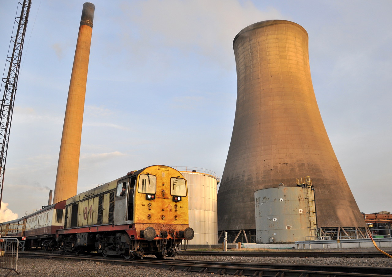 20056 at Tata Steel, Scunthorpe on 21/12/13.<br /> Published in Railways Illustrated March 2014.