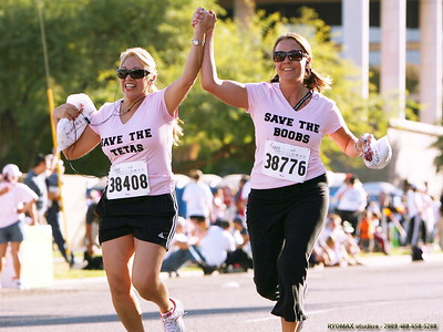 The Spirit of Susan G Komen Race for the Cure - 2007 -  published in Foothills Focus Vol. 5 No.49 - October 17, 2007