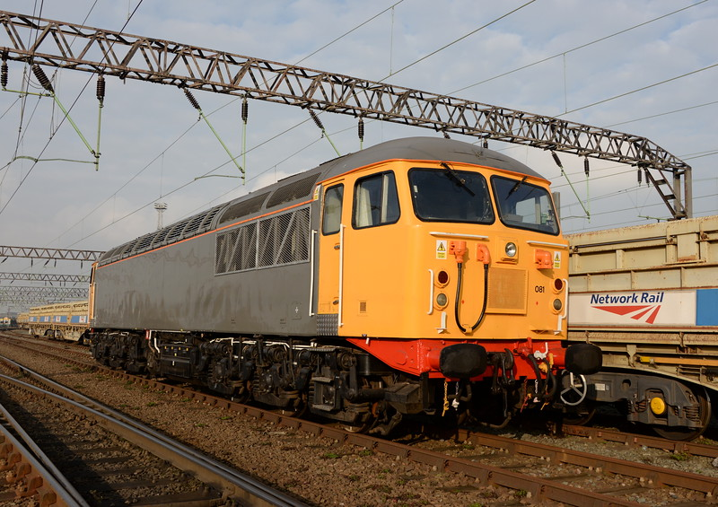 56081 at Crewe Basford Hall on 20/11/14. <br /> Published in Railways Illustrated February 2015.