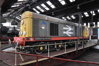 20118 shortly after arrival at Barrow Hill for reactivation by HNRC for hire to GBRf on 08/08/12. Published in Railways Illustrated October 2012.