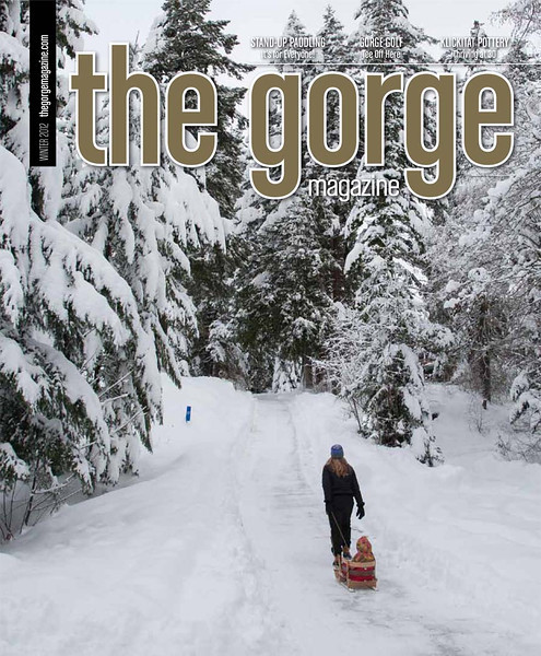 The Gorge Magazine Winter Cover