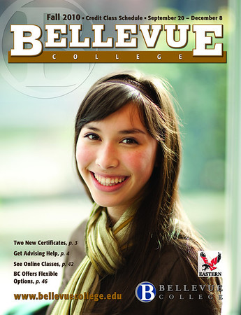 Bellevue College Course Catalog Cover