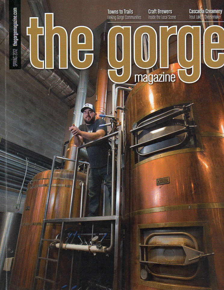 Gorge Magazine Cover, Breweries