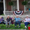 """Seniors Practice Their Wave"" These wonderful seniors were getting ready for the St Marys 4th of July Parade. Published on the cover of the Enhancing Your Quality of Life 2010 Annual Report to the Citizens of Camden County by the Camden County Board of Commissioners."