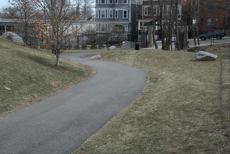Puddingstone Park path