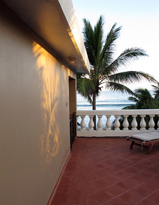 Casa Islena patio in Rincon, Puerto Rico's surfing capital on the west coast