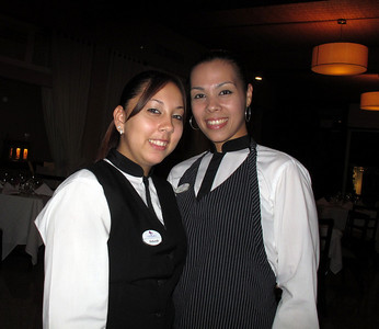Restaurant Alexandra's first class waitress team