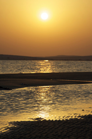 Sunset over Inland Sea