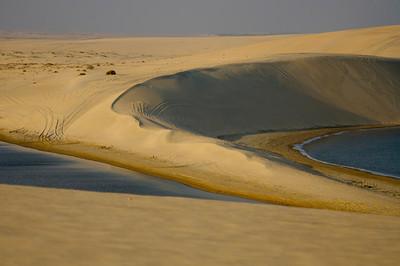 Sand dunes - Inland Sea