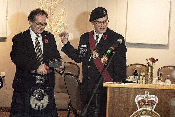 Legion Dinner Paul Perry presentation_nov 3 _5267