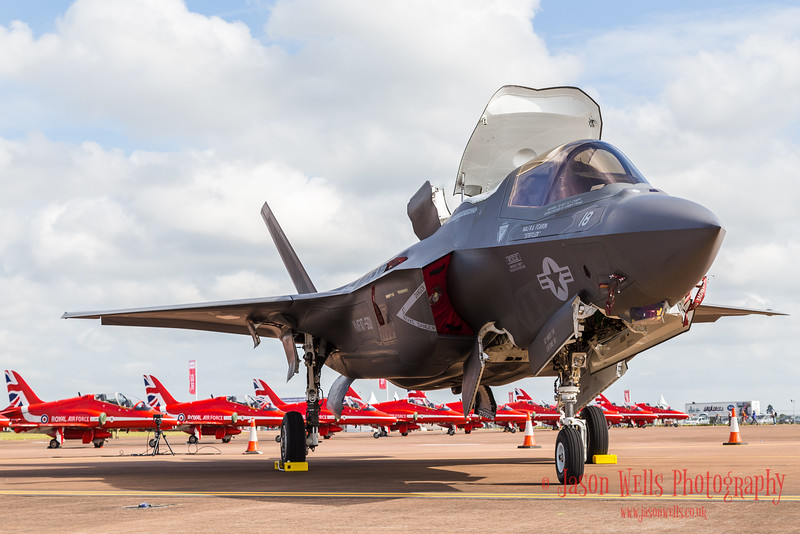 Pictured on day one (on Friday 8th July) of the 2016 Royal International Air Tattoo at RAF Fairford in Gloucestershire, the largest military airshow in the world.