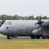 Italian Air Force Super Hercules landing