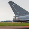 Typhoon FGR.4 holds in front of the runway at RIAT2016