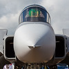 Close-up of the Swedish Grippen