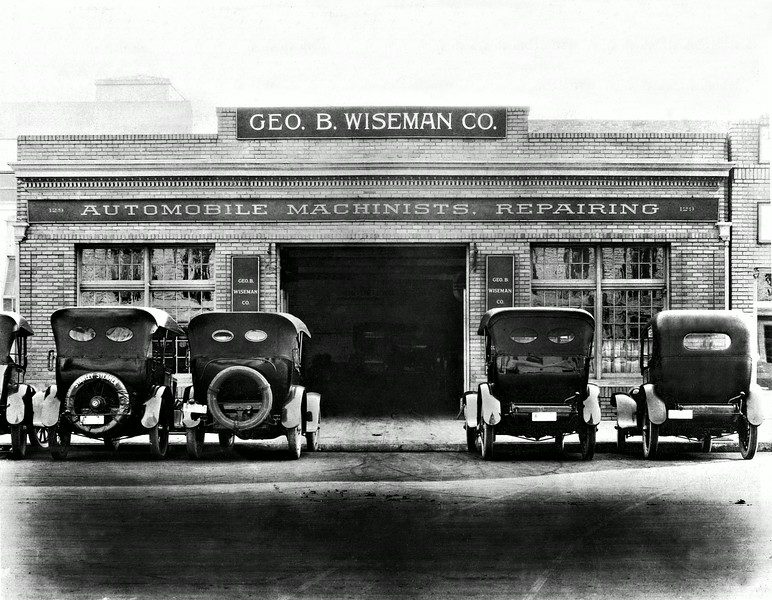 Wisman's Automotive Beginnings.