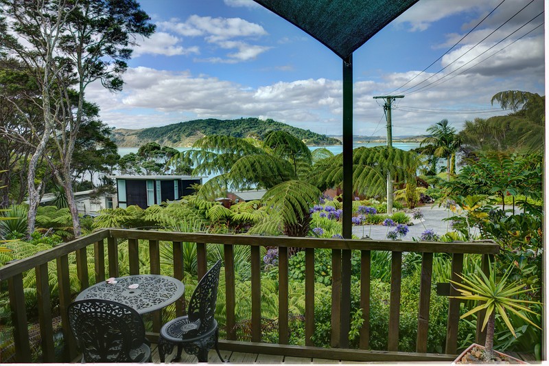 The view from my northern deck - February 2013<br /> Raglan, New Zealand