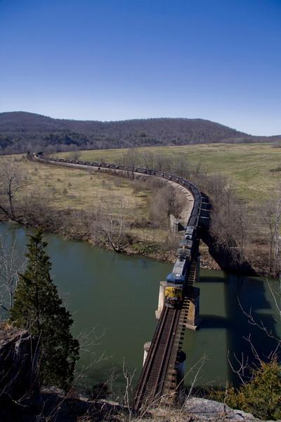 Hittin' the Clinch, and a morning at Lyle, VA (Feburary 25-26, 2012)