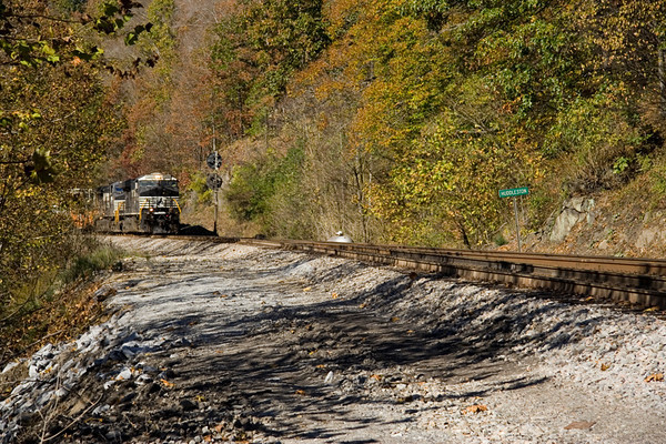 Railfanning the Altavista & Danville Districts (November 3rd, 2007)