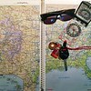 Rand McNally Atlas - Road Trip Itinerary
