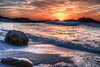 Sunset at Asilomar State Beach, Monterey, California