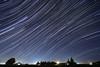 Night sky, rural Fresno County, California; October 20, 2012